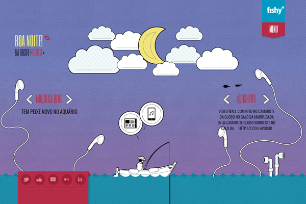 fishy 35 Interactive Parallax Scrolling Website Designs