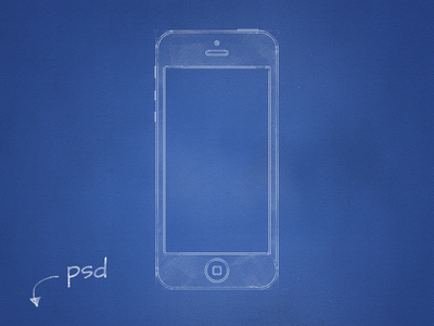 Blueprint Mockup by Antoni Botev
