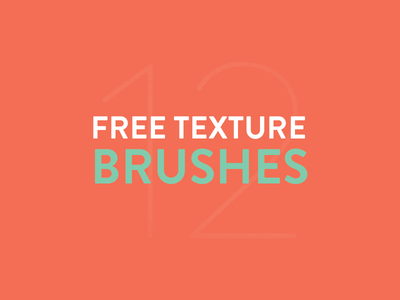 Free Texture Brushes by Konrad