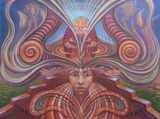 gaia ambassador web1 Visionary and Interdimensional Art by Amanda Sage