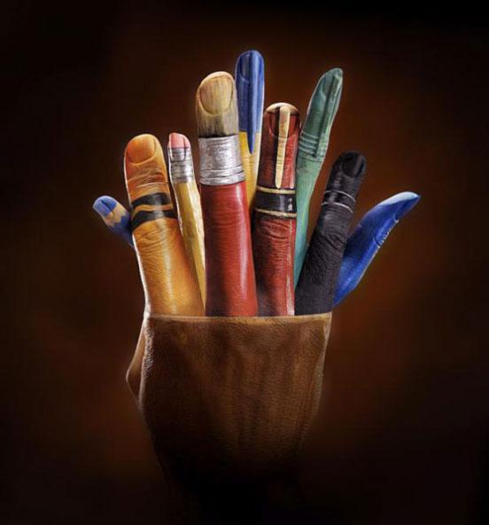 Hand Paintings