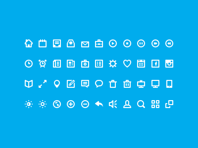 44 Shades of Free Icons by Victor Erixon