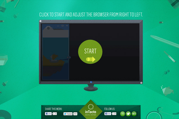 intacto 35 Interactive Parallax Scrolling Website Designs