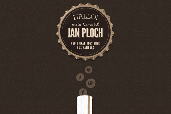 jan ploch 35 Interactive Parallax Scrolling Website Designs