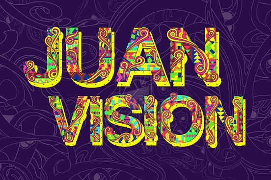 Juan Vision Typography by Seekthegeekk