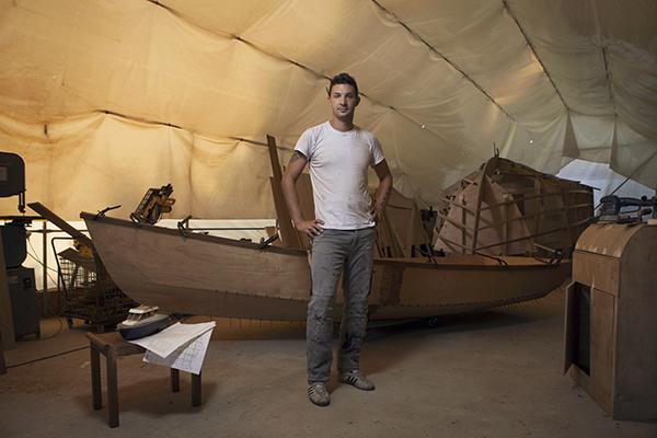 Juri Furlan, Boat builder