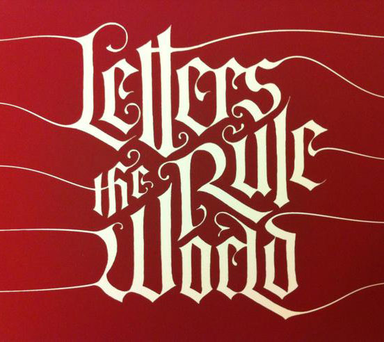 Letters Rule the World by Alisara Tareekes