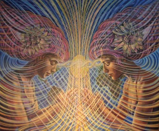 limbic resonance web1 Visionary and Interdimensional Art by Amanda Sage