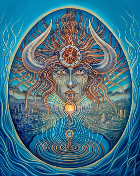 mind a sage web1 Visionary and Interdimensional Art by Amanda Sage