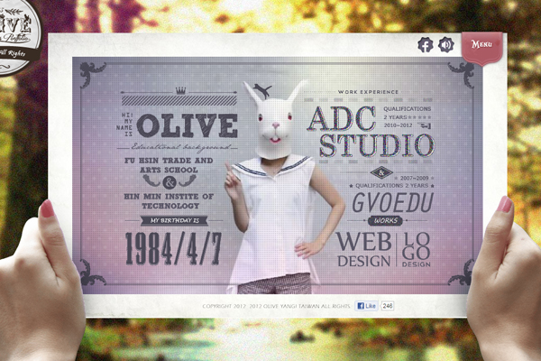 oliveyang 35 Interactive Parallax Scrolling Website Designs