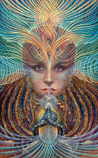 orphic awakening web1 Visionary and Interdimensional Art by Amanda Sage