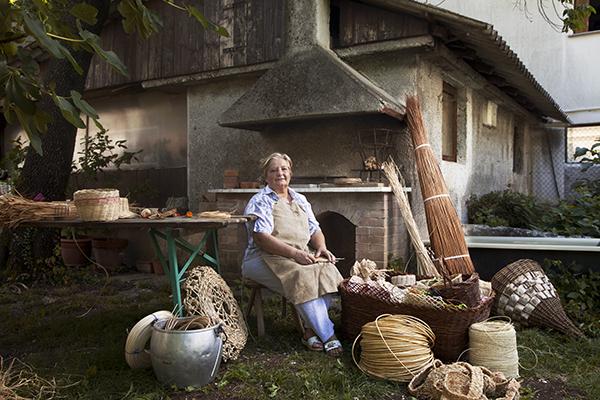 Patrizia Torresin, baskets artisan