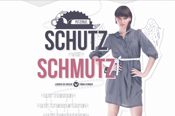 putzengel 35 Interactive Parallax Scrolling Website Designs
