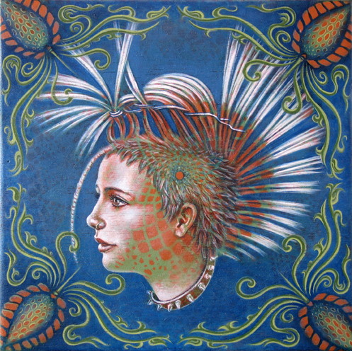 rebellion 721 Visionary and Interdimensional Art by Amanda Sage