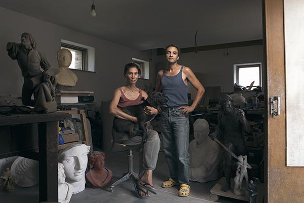 Seung Hee Baik e Alberto Fiorin, Sculptors