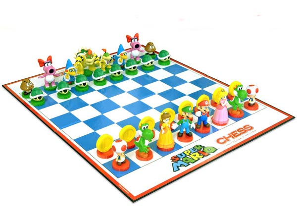 super mario chess set 11 20+ Aesthetic Chess Set Designs