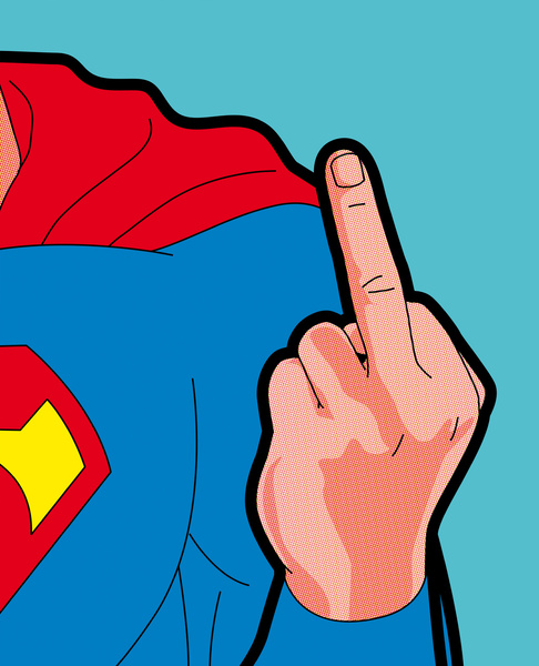 superfinger The Secret Life of Heroes by Greg Guillemin