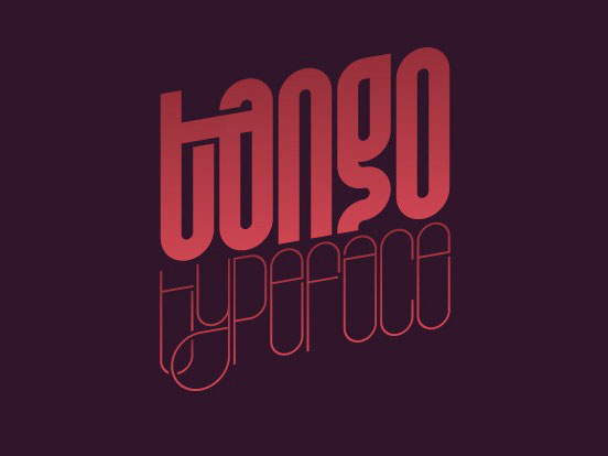 Tango Typeface by Titusprod