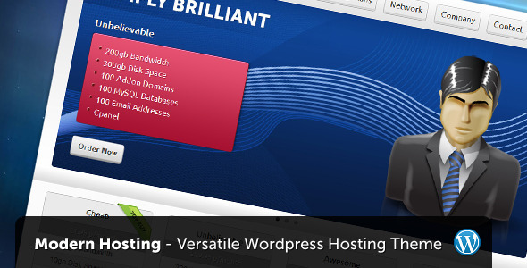 title   large preview1 15 Premium Hosting Wordpress Themes