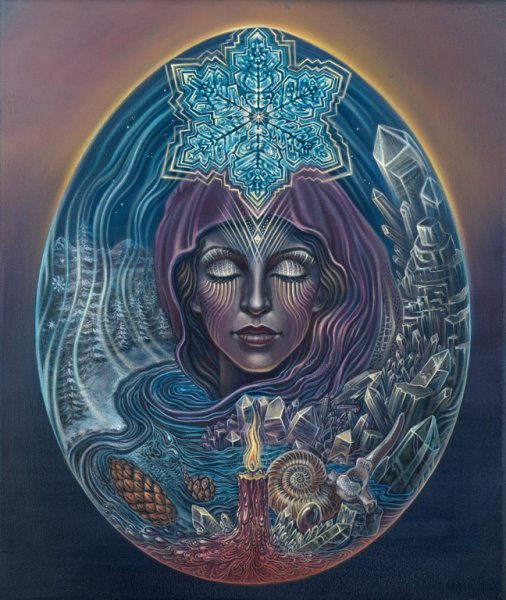 winter truth new 721 Visionary and Interdimensional Art by Amanda Sage