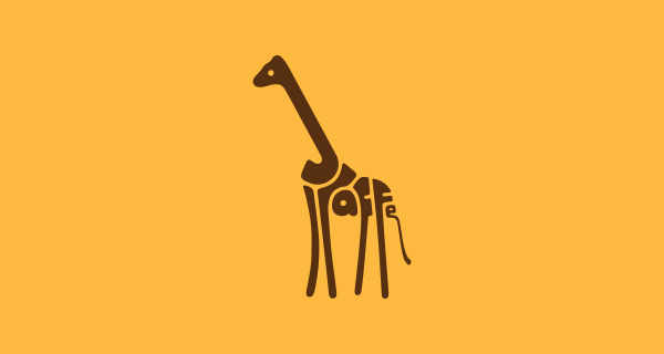 word animals 25 Word Animals Logotypes by Dan Fleming