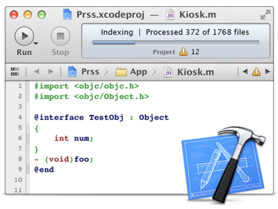 Retina Xcode Mini by Jip