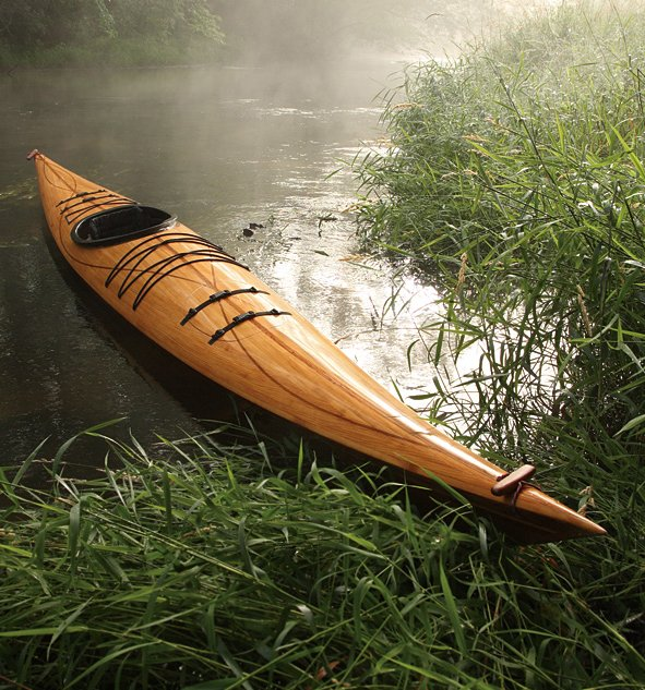 Cedar Strip Wood Kayak