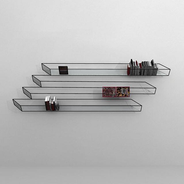 Optical Illusion Bookshelf