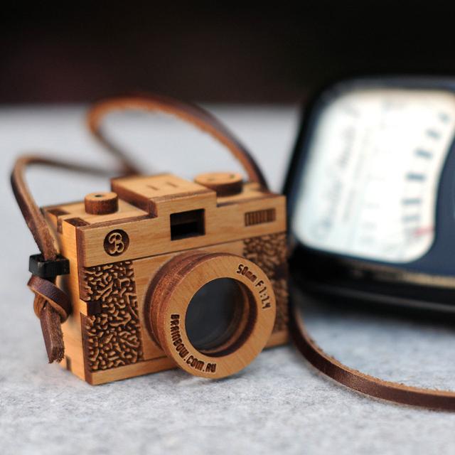 3D Wooden Camera