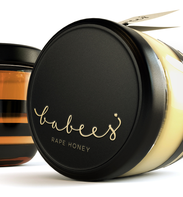babees honey 3 20 Delicious Honey Packaging Designs