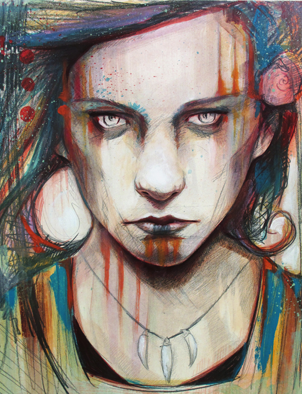 bear video 20 Marvelous Paintings from Michael Shapcott