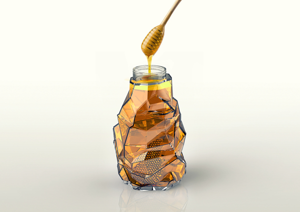 beeloved honey 3 20 Delicious Honey Packaging Designs