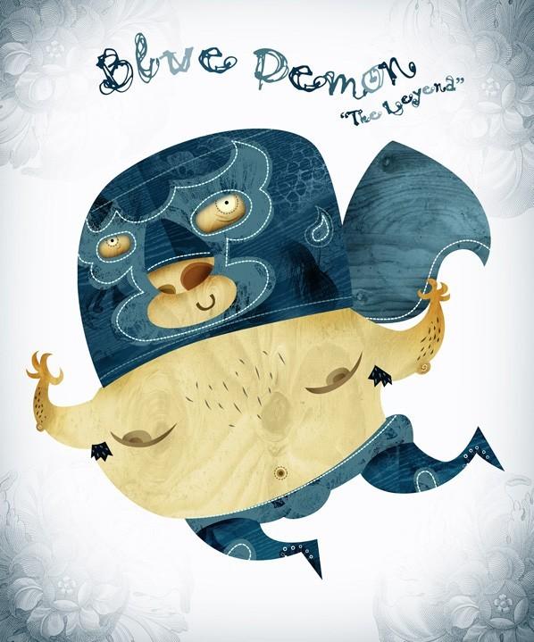 Blue Demon, The Leyend