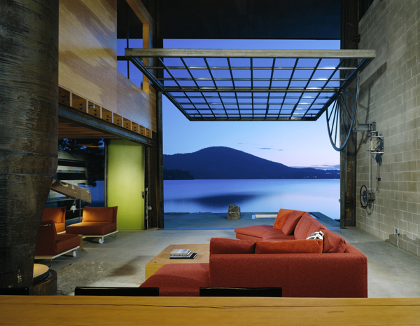 chicken point cabin 7 Chicken Point Cabin by Olson Kundig Architects