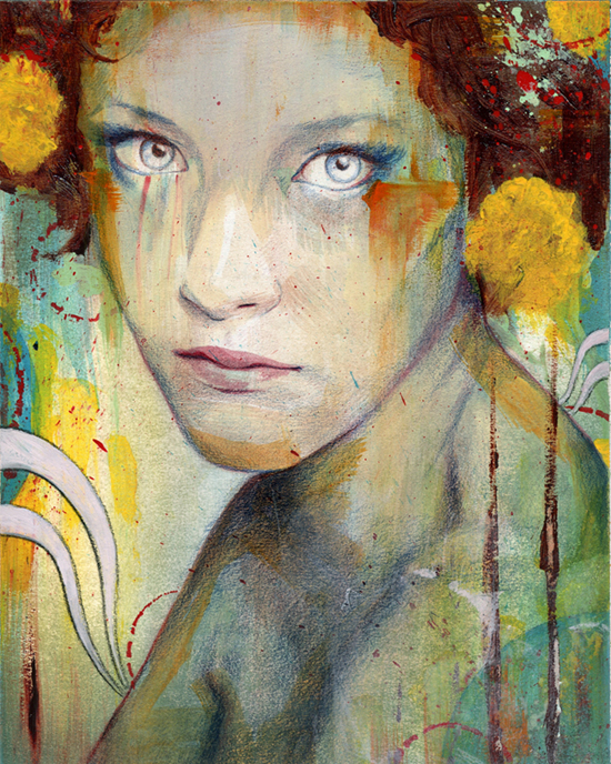 dahlia 20 Marvelous Paintings from Michael Shapcott