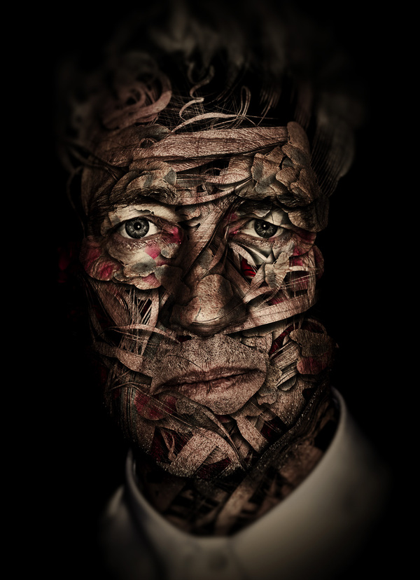 david lynch Fascinating Photo Manipulations by Alberto Seveso