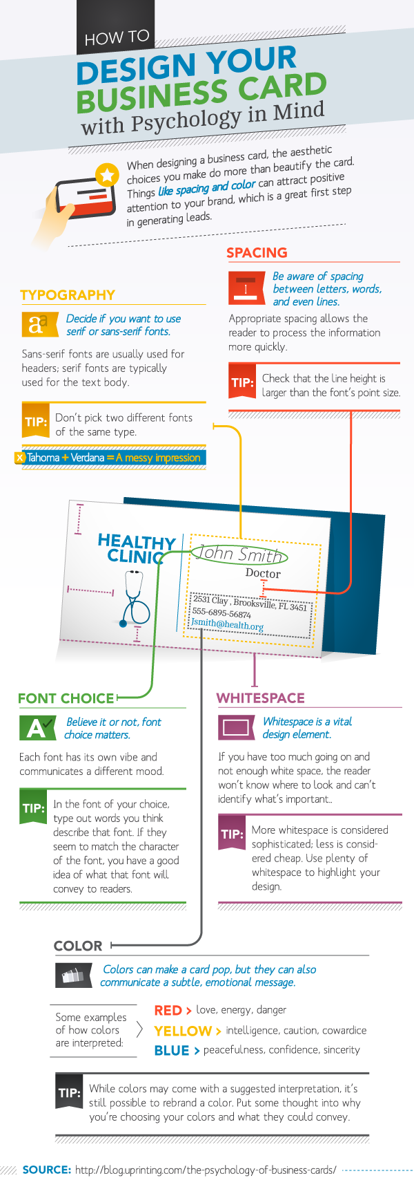 design your business card with psychology in mind11 Design Your Business Card with Psychology [Infographic]