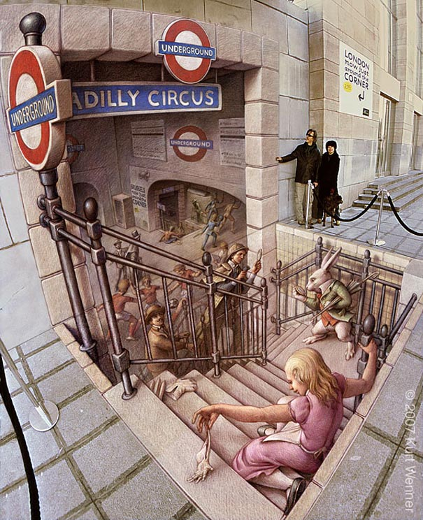 eurostar Art on the Edge: Unbelievable Street Art Illusions