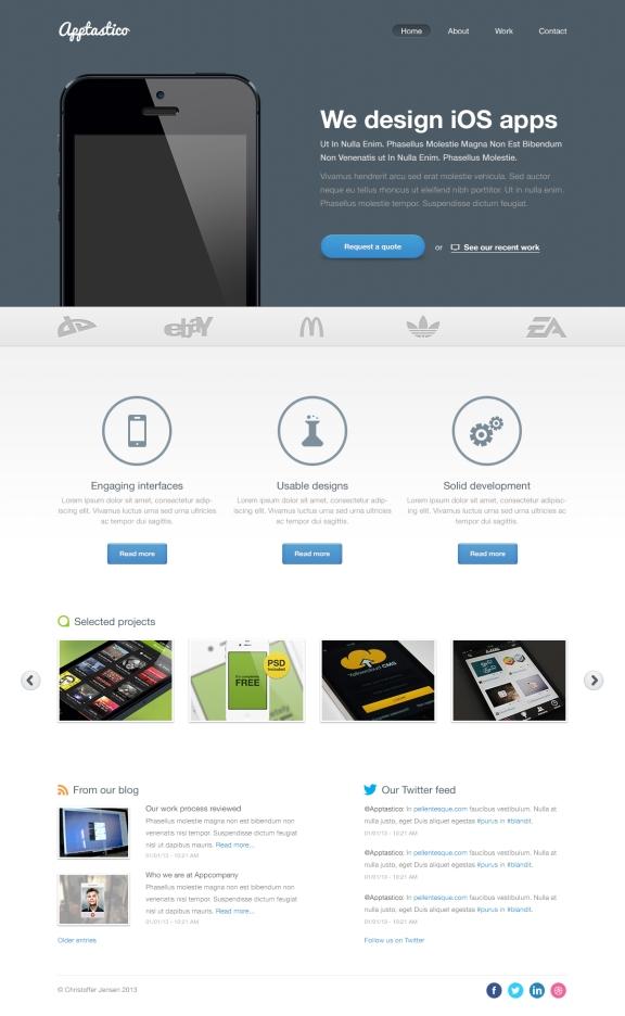 A freebie web design