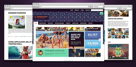 impressionist Giveaway: 3 Wordpress Themes (Developers License) from Rockable Themes
