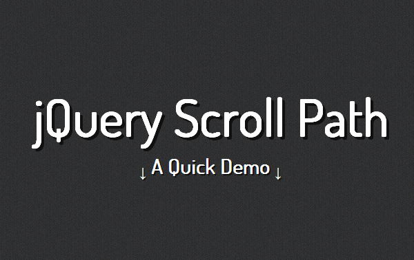 jquery scroll path 5 Best jQuery Plugins for Parallax Scrolling