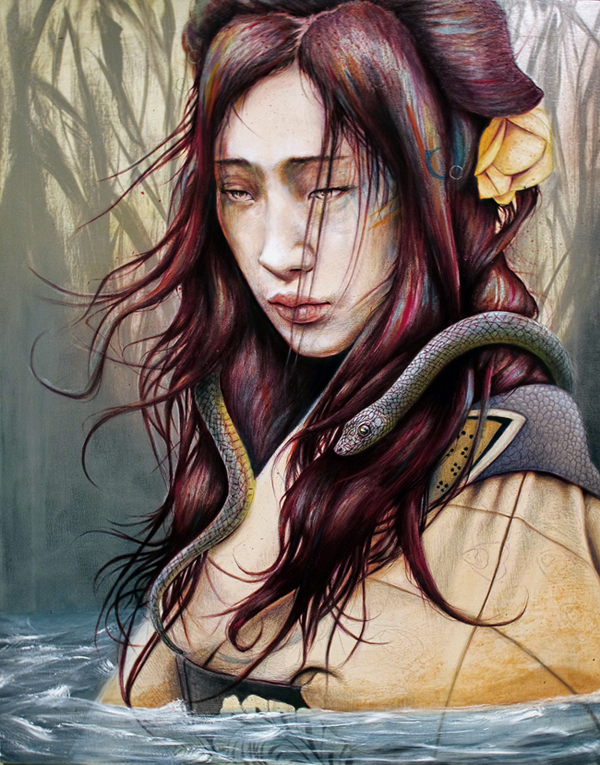 lolas note 20 Marvelous Paintings from Michael Shapcott