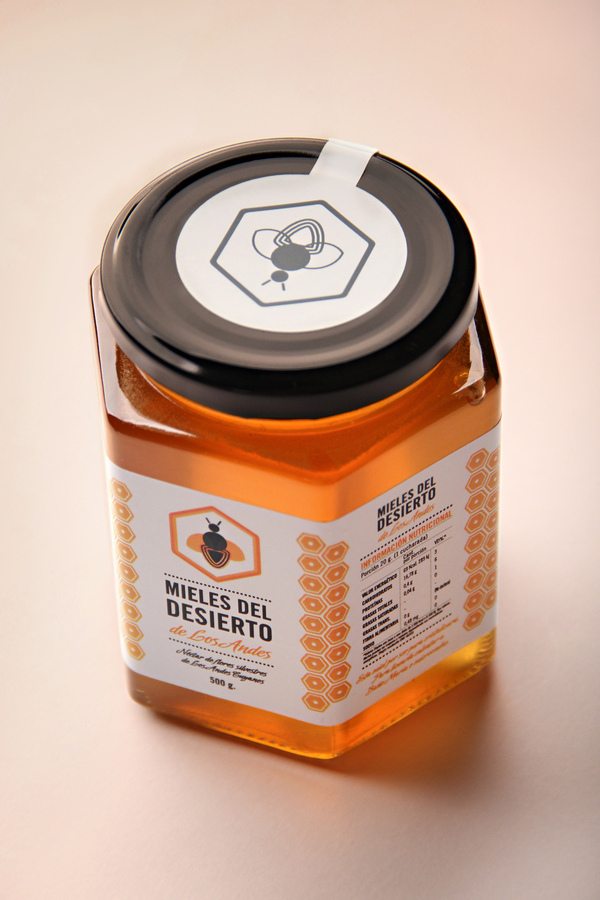 mieles del desierto 2 20 Delicious Honey Packaging Designs