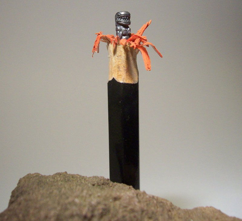 Mind Blowing Pencil Sculptures Carved by Carkahegyzo (5)