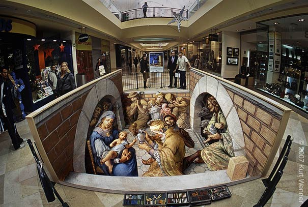 nativity 2 Art on the Edge: Unbelievable Street Art Illusions