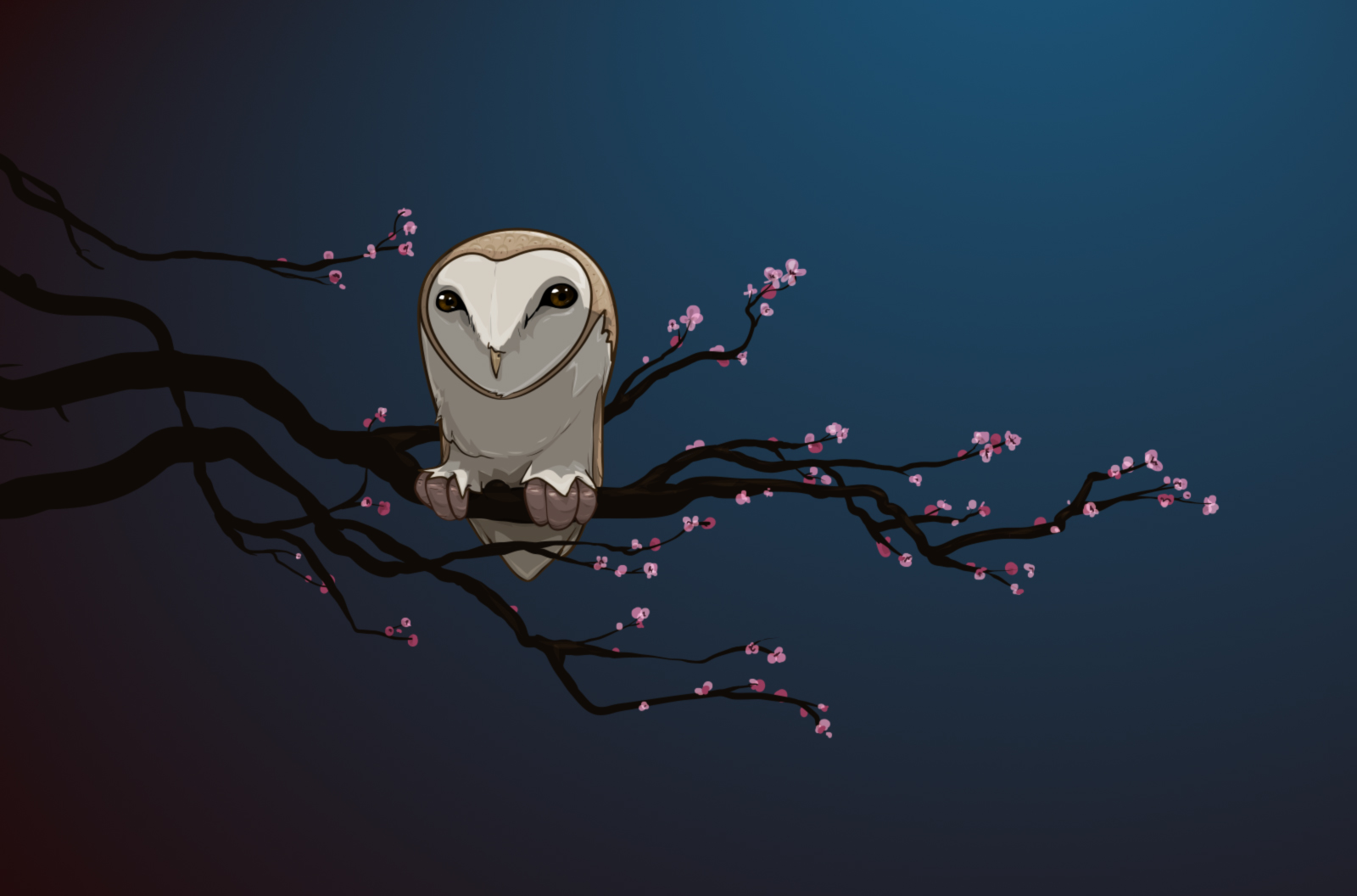 night owl 30 Illusive Illustrations from David Lanham