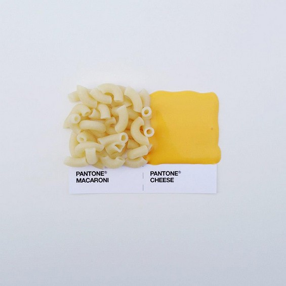 Pantone Food Pairings by David Schwen (1)