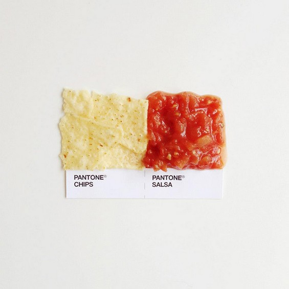 Pantone Food Pairings by David Schwen (2)