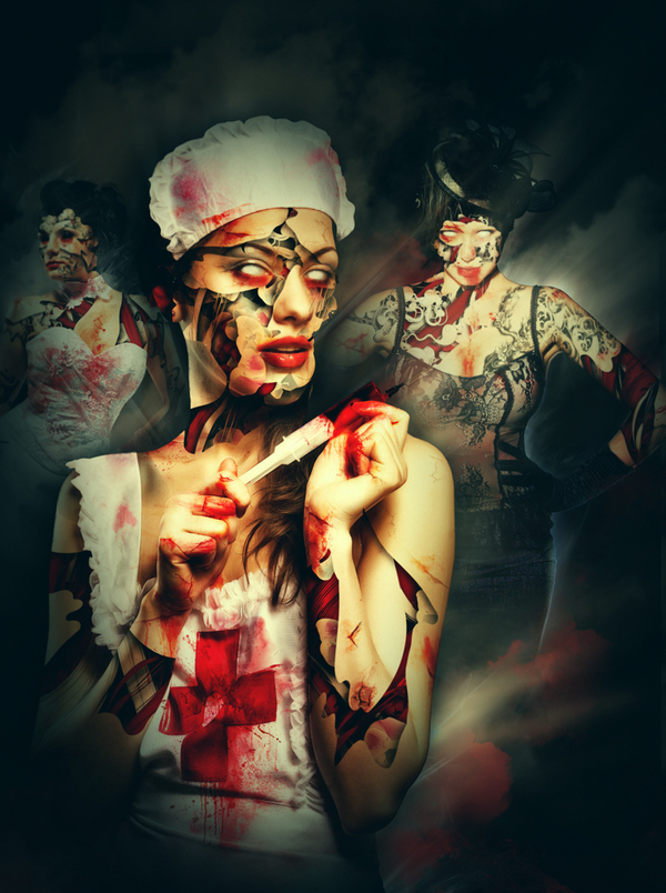 playboy magazine usa zombcon Fascinating Photo Manipulations by Alberto Seveso