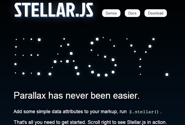 stellar 5 Best jQuery Plugins for Parallax Scrolling